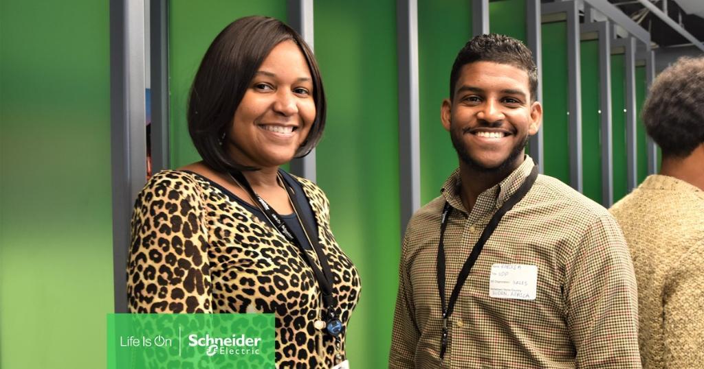 Schneider Electric employee diversity
