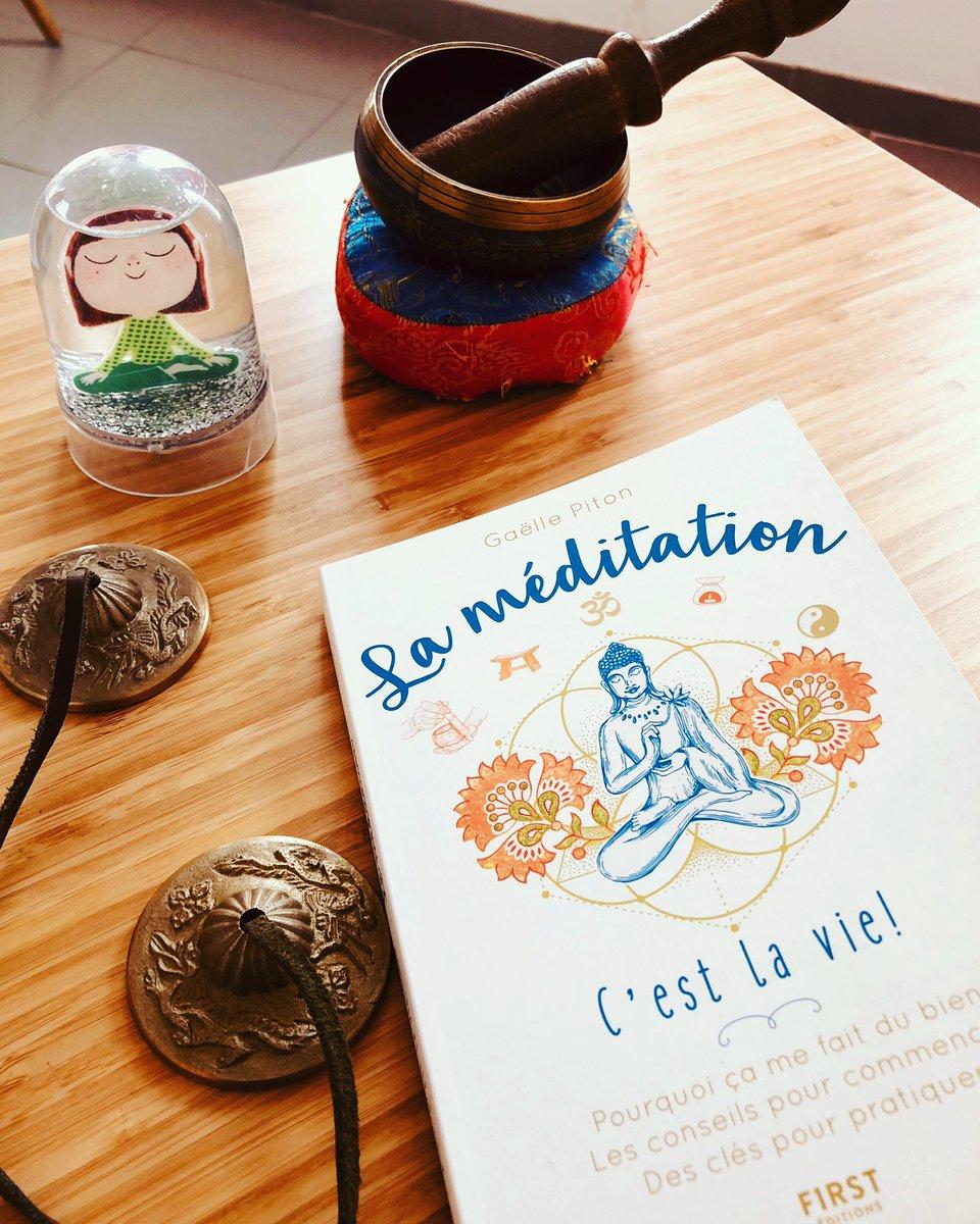 La méditation et ses outils,ses références«La méditation, c'est la vie» de @gaellepiton aux @editionsfirst .  #meditation #mediter #mindfulness #mindful #pleineconscience #pleinepresence #auteur  #livre #book #auteure #editionsfirst #gaellepiton #dansersaviepic.twitter.com/g4qKQanufe