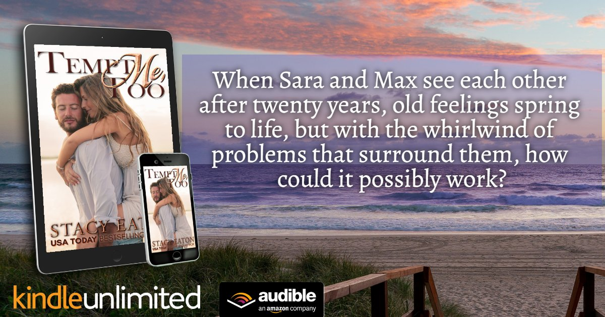 """#AudioBook Review: TEMPT ME TOO - """"Wonderful Second Chance Romance - It was refreshing to see realistic and relatable characters in their 40's dealing with real issues - The narration was outstanding"""" http://ow.ly/PwE930kFEJp #secondchance #Reallife #Addiction #KU #Audio"""