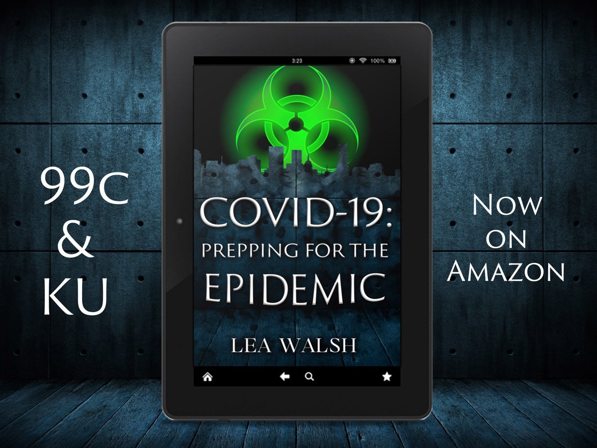 COVID-19: Prepping for the Epidemic is out now on Amazon:https://pst.cr/gP5GW#Coronavirus #COVID19 #KU #Prepping #Bookboost