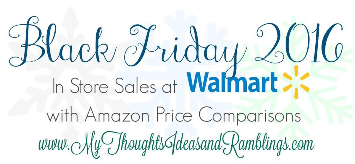 Walmart Friday Ad With Amazon Price Comparisons http://mythoughtsideasandramblings.com/walmart-friday-ad-amazon-price-comparisons/…pic.twitter.com/Ifng3KaHJA