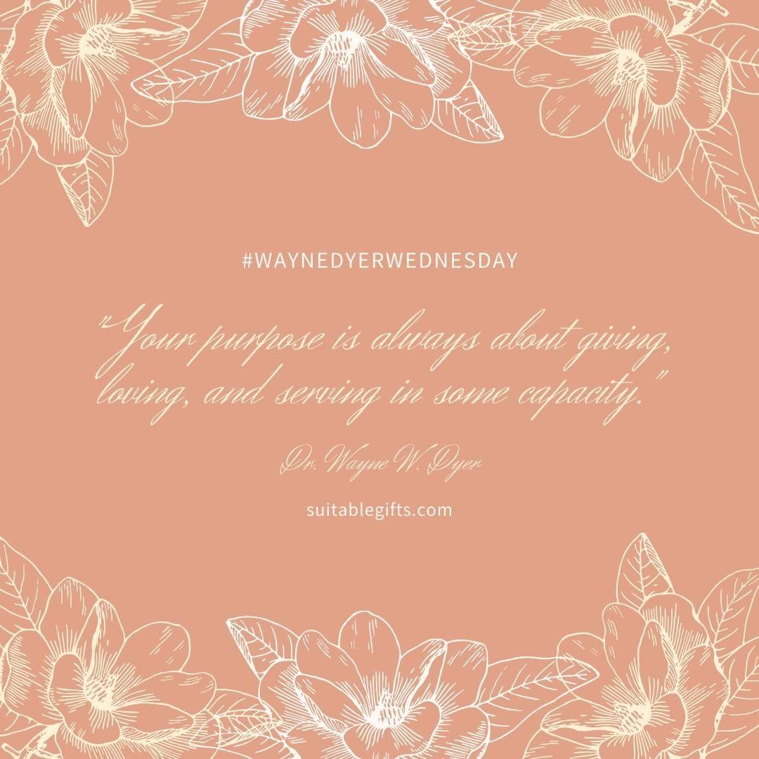 It's #WayneDyerWednesday ! http://www.suitablegifts.com⠀⠀⠀⠀⠀⠀⠀ #quotes #inspiration #motivation #meditation #yoga #spirituality #grateful #suitablegifts #waynedyer #drwaynedyer #hayhouse #wednesdaywisdom @DrWayneWDyerpic.twitter.com/ClguuqbJHo