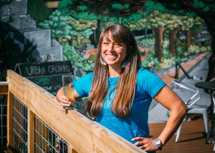 There's more to drink in Asheville than just beer! #Asheville is serving up delicious hard cider made from local fruit sourced from just down the road in Hendersonville, NC.  Meet Josie Mielke, who leads Urban Orchard Cider Co.: . #AVLDrinks #Cider