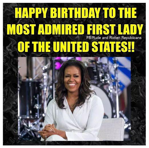 Awesome Sauce. Happy Birthday, Mrs. Obama. #BlackHistoryMonth