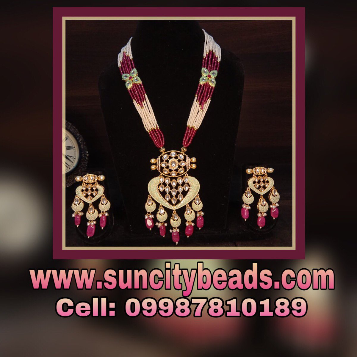 pendant necklace book order @ 9987810189 Whatsapp  #jadaujewellery #kundannecklace #beadsjewellery #suncitybeads #jewellerydesign #jewelrymaking #jewelrydesigner  #WeddingGifts #weddingjewellery #jewelrylove #zevarking #jewellerymaking #maketoorderjewellery #exhibitionjewellerypic.twitter.com/Mz25mTYAF7