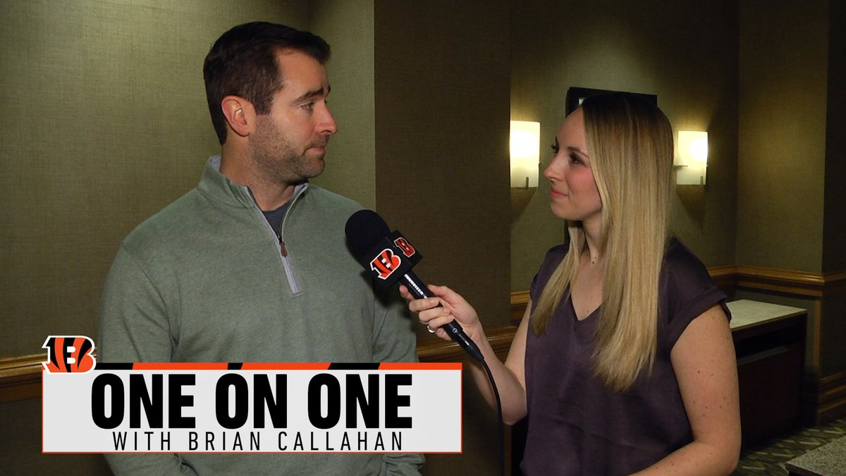 Catching up with @Bengals O.C. Brian Callahan at the @NFL Combine#Bengals #WhoDey #LetsRoar #SeizeTheDEY #NewDEY #NFL #NFL100 #BungleForBurrow #NFLPlayoffs #SuperBowl #NFLDraft