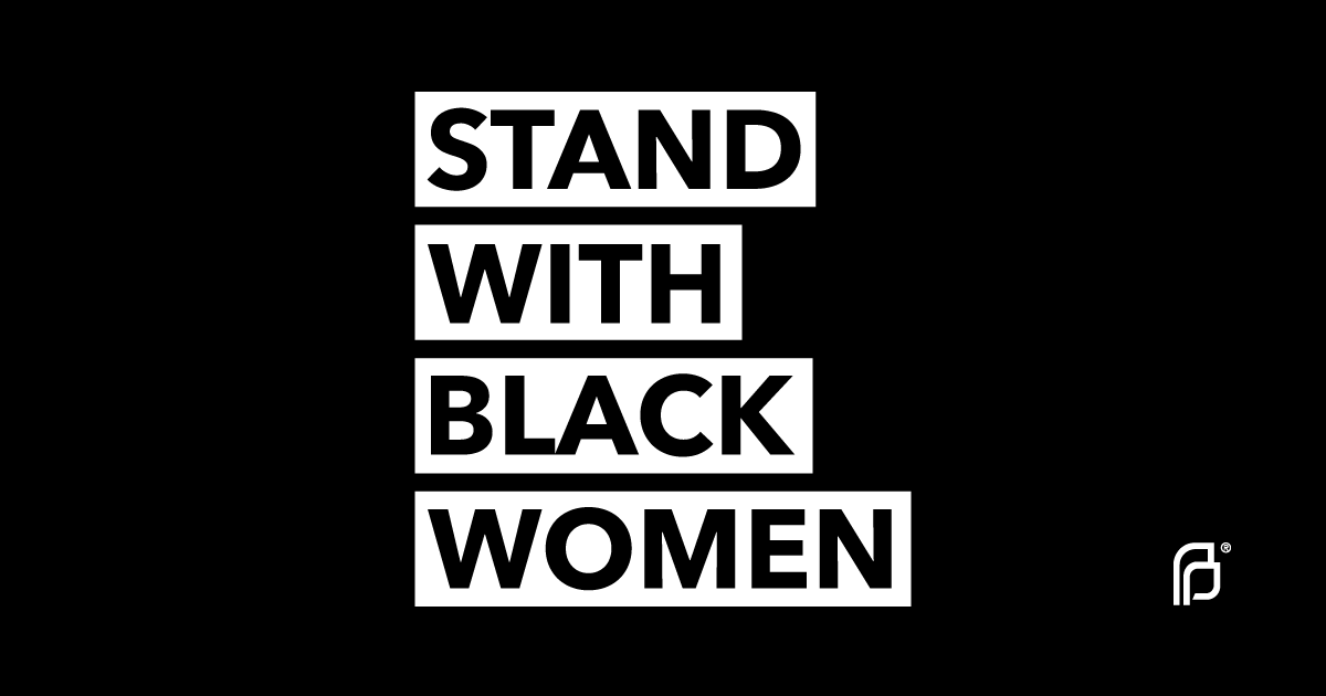 When our rights come under fire, it's Black women & communities who often bear the brunt of attacks resulting in lack of access to quality, affordable health care. There's no path to reproductive freedom if we don't center the voices, leadership, and experiences of Black women. <br>http://pic.twitter.com/3jLUtsxJdj