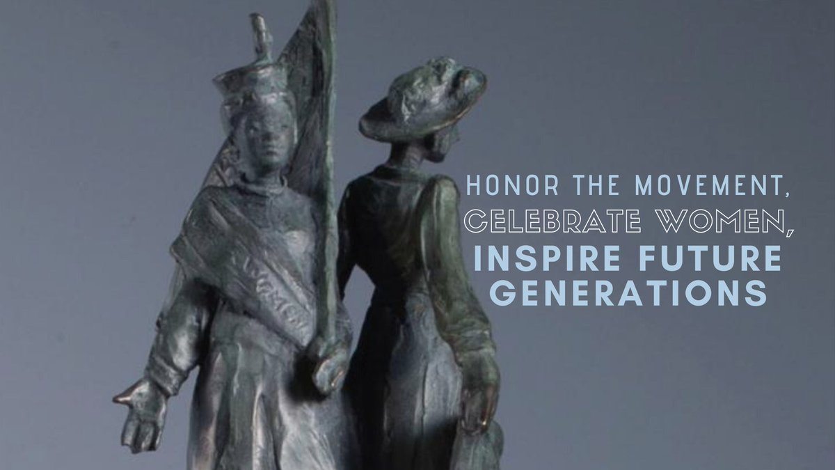Uplifting women's history is vital – that's why I'm supportive of @RepJoeNeguse's bill to establish the first-ever outdoor monument to women's suffrage.   It passed @NRDems in September, and today the House votes on it. #HonorTheMovement