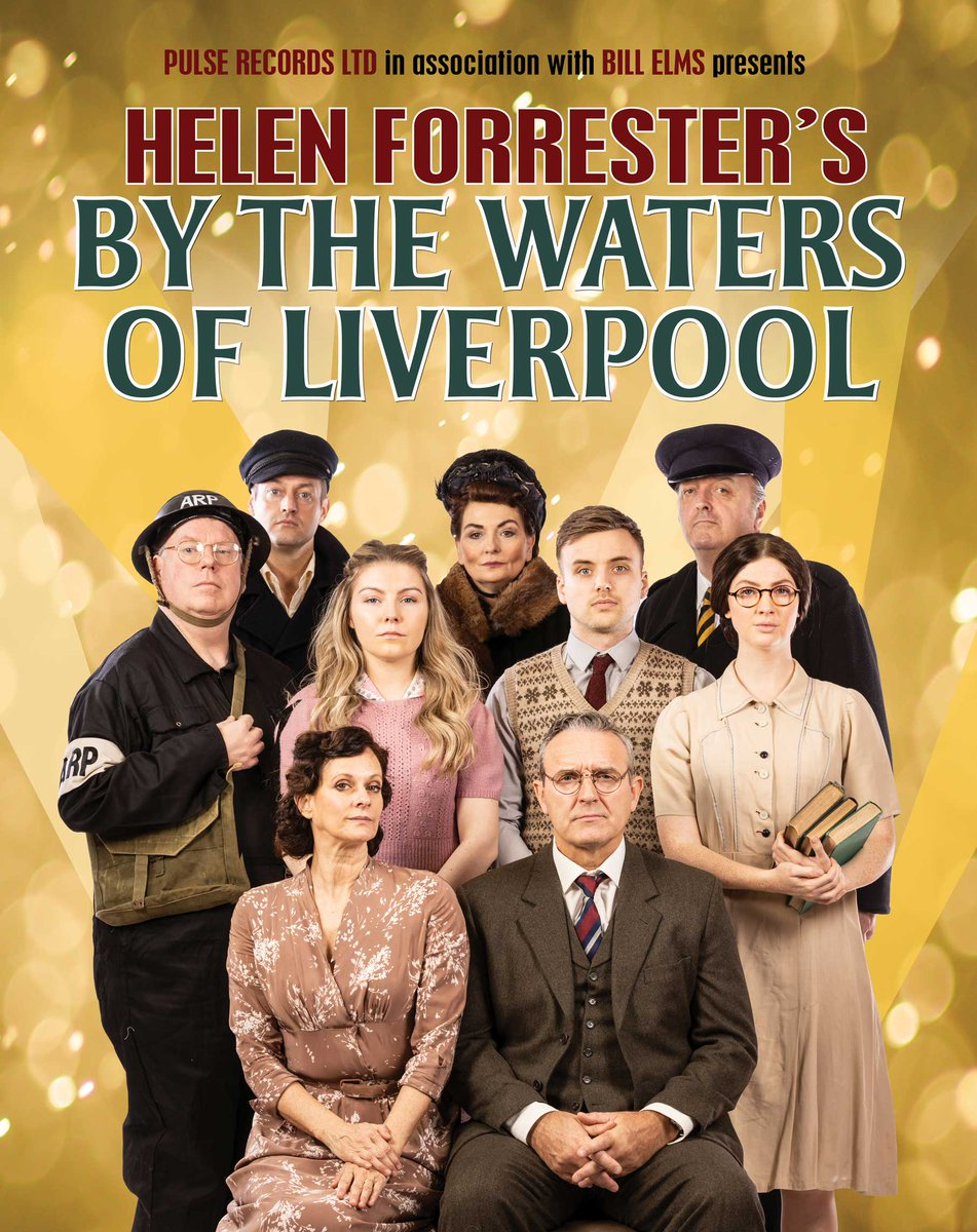 PHOTO FLASH! First look at cast of Helen Forrester's @bythewatersofl1 in costume, UK tour opens at @FloralPavilion next week then 16 venues.   Starring @shinysiany @MarkMoraghan @comedypotts @ChloeMcdonald93 @ParryGlasspool3 @lucy_dixon @DannyDannyo28 #LynnFrancis #RoyCarruthers https://t.co/lpId8WVqnC