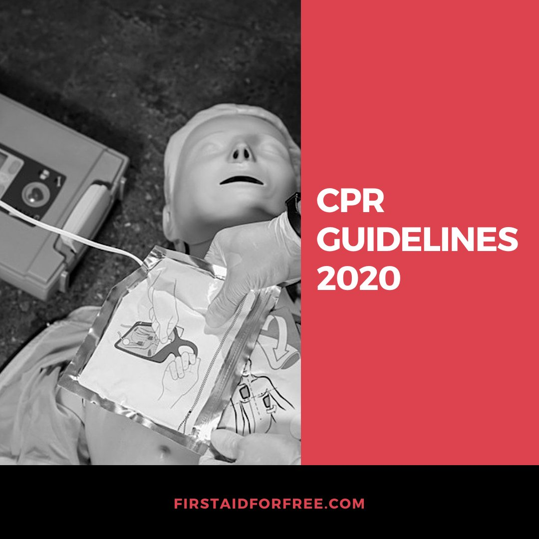 What changes do you think will be in the 2020 resuscitation guidelines?  #firstaid #firstaider #CPRcertified #firstaidtraining #firstaidclass pic.twitter.com/VrWOEKvDai