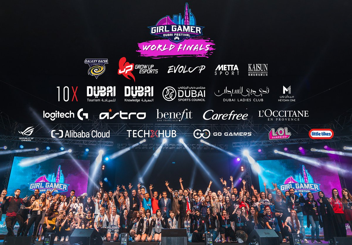 We would like to thank all our partners, sponsors & supporters. We are proud of what we achieved with your help. Thank You for believing that together we can contribute to equality in esports, while inspiring the younger generations. Thanks for having us Dubai! See you soon! https://t.co/KDLox4p5Eo