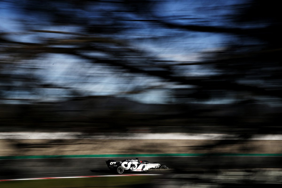 ✅ I think it was a productive half-day of testing for me. When it's a new car you always get interesting results, so I was able to understand it better every run I did.  #DK26 #AlphaTauri #F1Testing #F1 https://t.co/9LM6YMMXxX