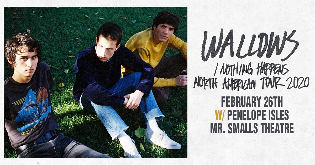 TONIGHT! SOLD OUT! @MrSmallsTheatre: @wallowsmusic with special guest @PenelopeIsles! Doors 7PM / Show 8PM!