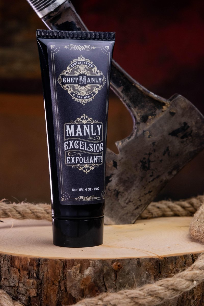 So let it be known, Chet Manly will purge your pores of its own trapped oils!  Get yours here http://bit.ly/2SIvRbd    #ChetManly #MensSkinCare #Manliness #MensGrooming #Grooming #MensHealth #LadBiblepic.twitter.com/CVvuoAzwwa