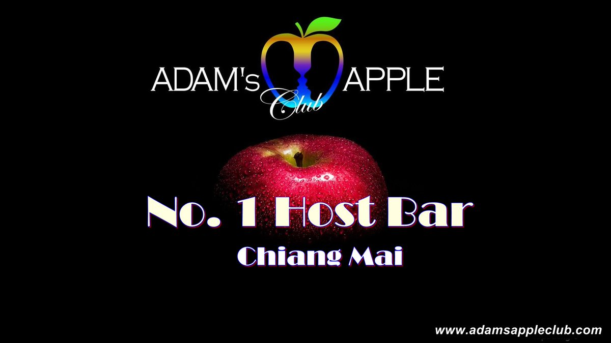 "No. 1 Host Bar Chiang Mai  Here in Chiang Mai you can find the friendliest Host Bar ""Adams Apple Club"". Cute, handsome, friendly Asian Boys and an amazing Cabaret welcome you in this chic and modern Host Club.  Adam's Apple Boys are the most talented Show Boys ever. pic.twitter.com/7eenG7x0rh"