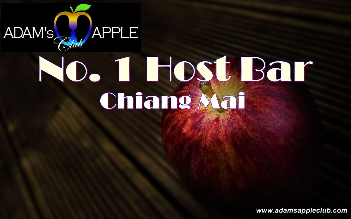 "No. 1 Host Bar Chiang Mai  Here in Chiang Mai you can find the friendliest Host Bar ""Adams Apple Club"". Cute, handsome, friendly Asian Boys and an amazing Cabaret welcome you in this chic and modern Host Club.  Adam's Apple Boys are the most talented Show Boys ever. pic.twitter.com/GAvg6A78nW"