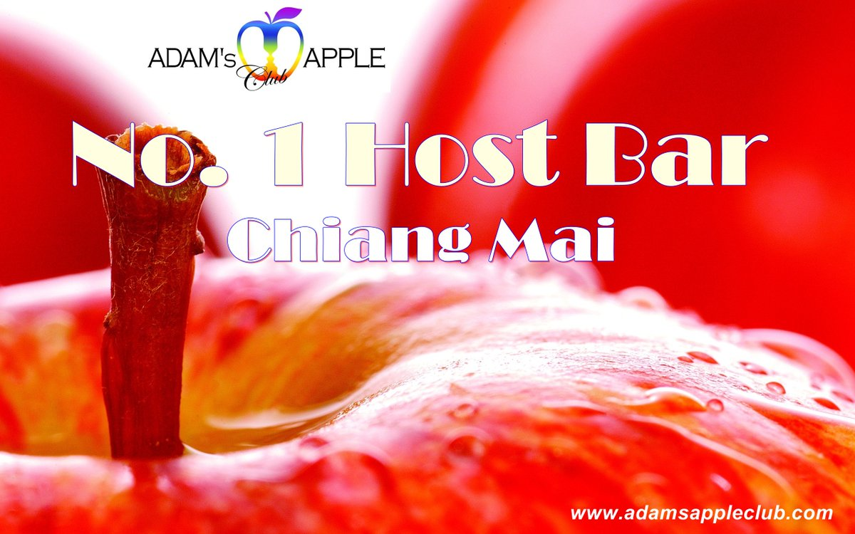 "No. 1 Host Bar Chiang Mai  Here in Chiang Mai you can find the friendliest Host Bar ""Adams Apple Club"". Cute, handsome, friendly Asian Boys and an amazing Cabaret welcome you in this chic and modern Host Club.  Adam's Apple Boys are the most talented Show Boys ever. pic.twitter.com/UC8fbwhdKh"