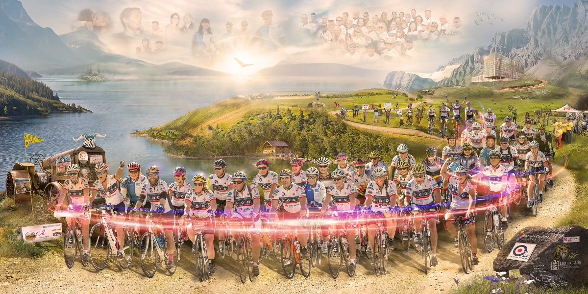 One Aim will be Riding for their 11th year in 2020! Initially a small team lead by Nigel Brockton – a cancer survivor, researcher, and an avid cyclist – is now a team of 60 individuals who have helped raised close to $3 Million!   Learn more at https://t.co/CCiGCO1lVr https://t.co/LU9d7j33Jj