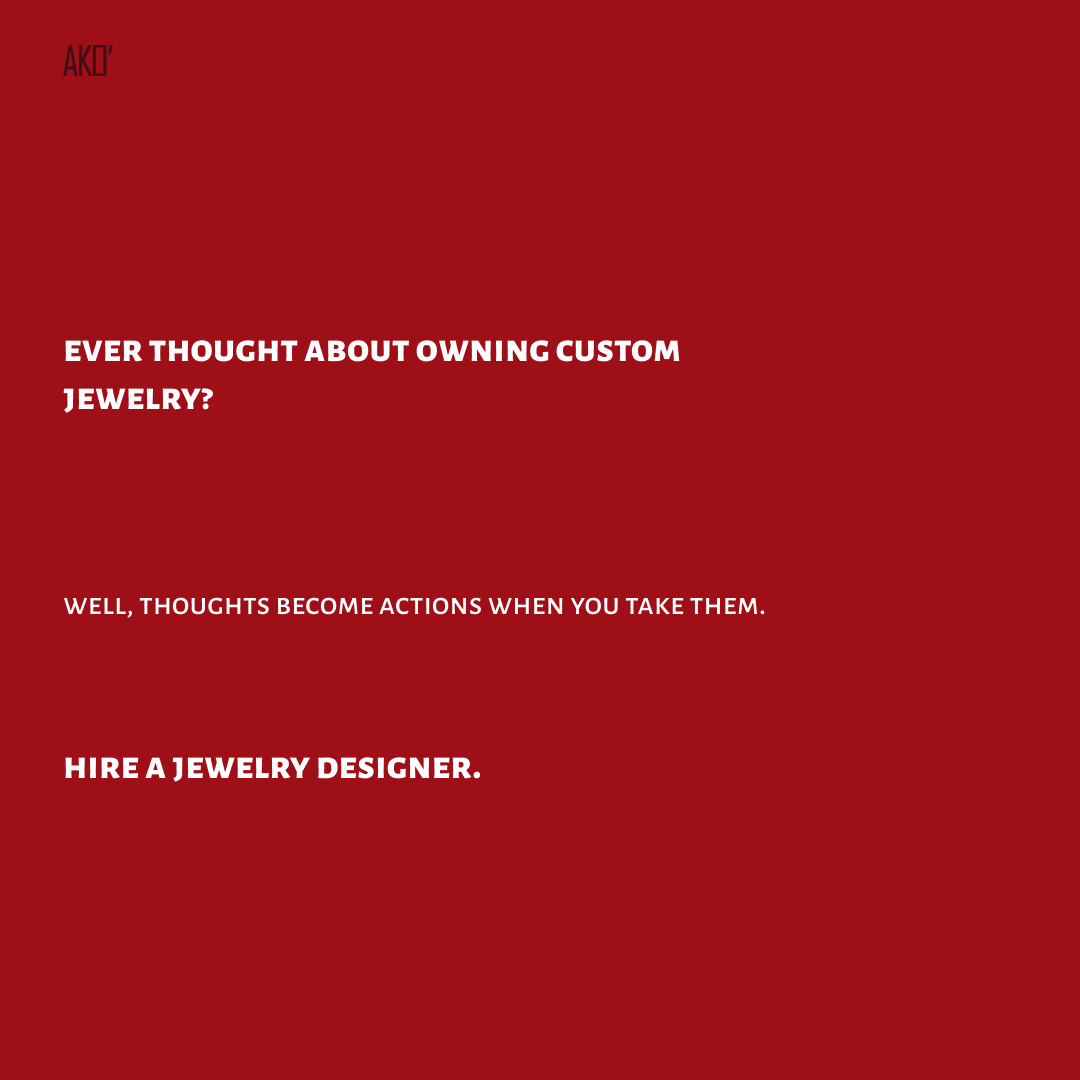 Really, whats stopping you? - Tag a jewelry designer ⬇️  -  -  -  #jewelry #jewelrydesign #jewelrygram #handmadejewelry #instajewelry #jewelryoftheday #jewelrylover #style #jewelrydesignnyc #jewelrydesignernyc #nycjewelrydesign