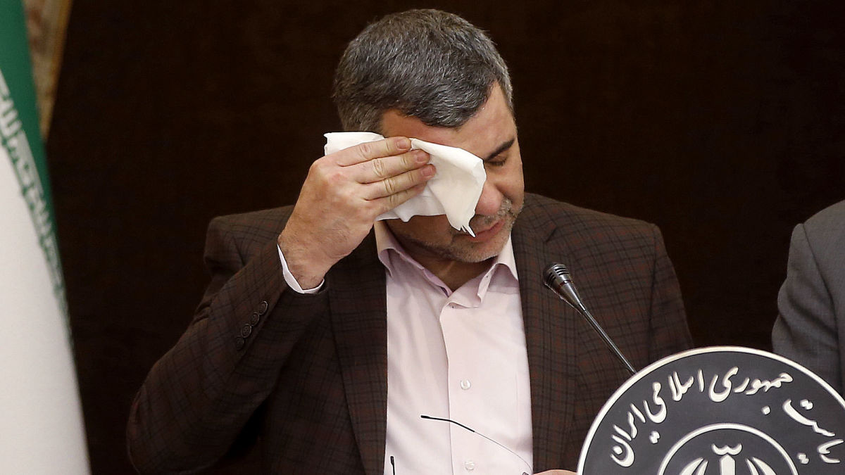 Iran's Deputy Health Minister Announces He Has Coronavirus And Also Hemorrhoids But That's A Separate Thing That He Will Deal With On His Own  https:// trib.al/Fj3JBfj    <br>http://pic.twitter.com/gB66PokbQt