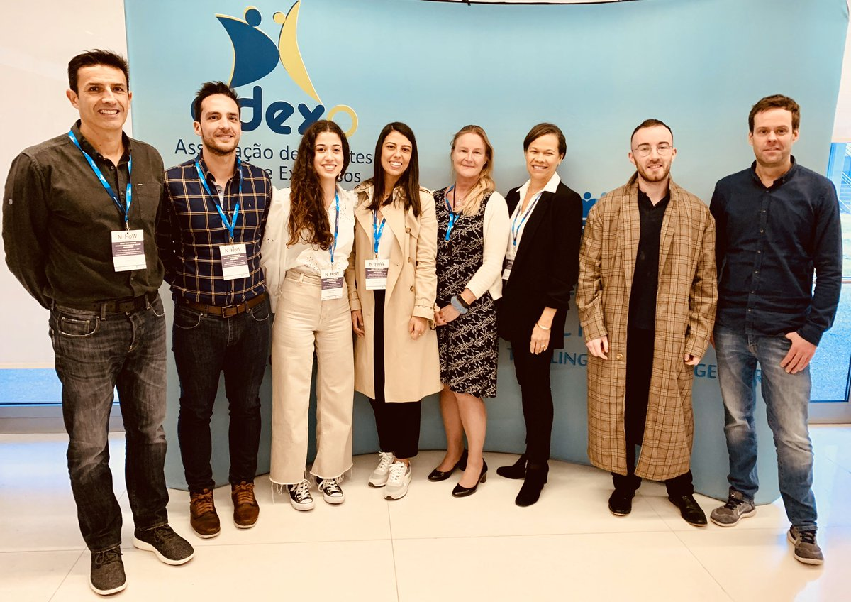Some members of the NoHoW team who gathered in #Lisbon for #EASOCOMs @NoHoWH2020 workshop  @EASOobesity @NoHoWH2020pic.twitter.com/9483n2N1q7