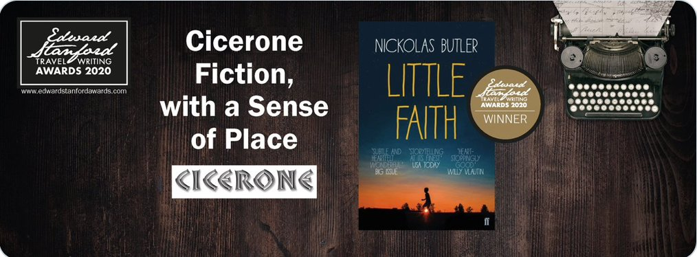 "Delighted to have been a judge on the @ESTravelAwards 2020 Fiction, With a Sense of Place  And the Winner is ""Little Faith: by @wiscobutler   Set in #Wisconsin #ESTWA2020   https://www.tripfiction.com/books/little-faith/ … Published by @FaberBooks    @StanfordsTravel  @ciceronepresspic.twitter.com/PZ5utjNNtX"