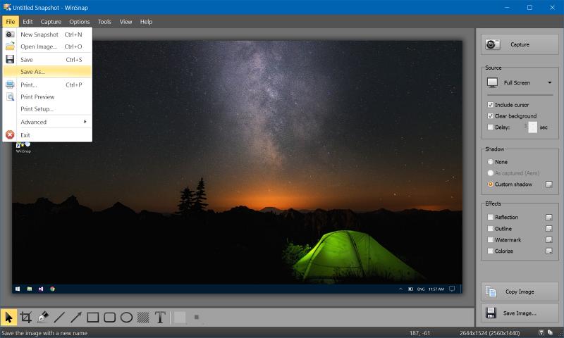 Screenshots #capture #Utilities : WinSnap 5.2.2 - #Windows10 #ready | https://www.3dfxzone.it/news/reader.php?objid=30488…