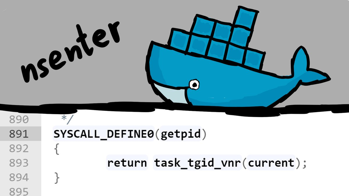 A bit deeper dive into containers. We look at some Linux Kernel sources and learn about the nsenter command.https://www.youtube.com/watch?v=sHp0Q3rvamk …