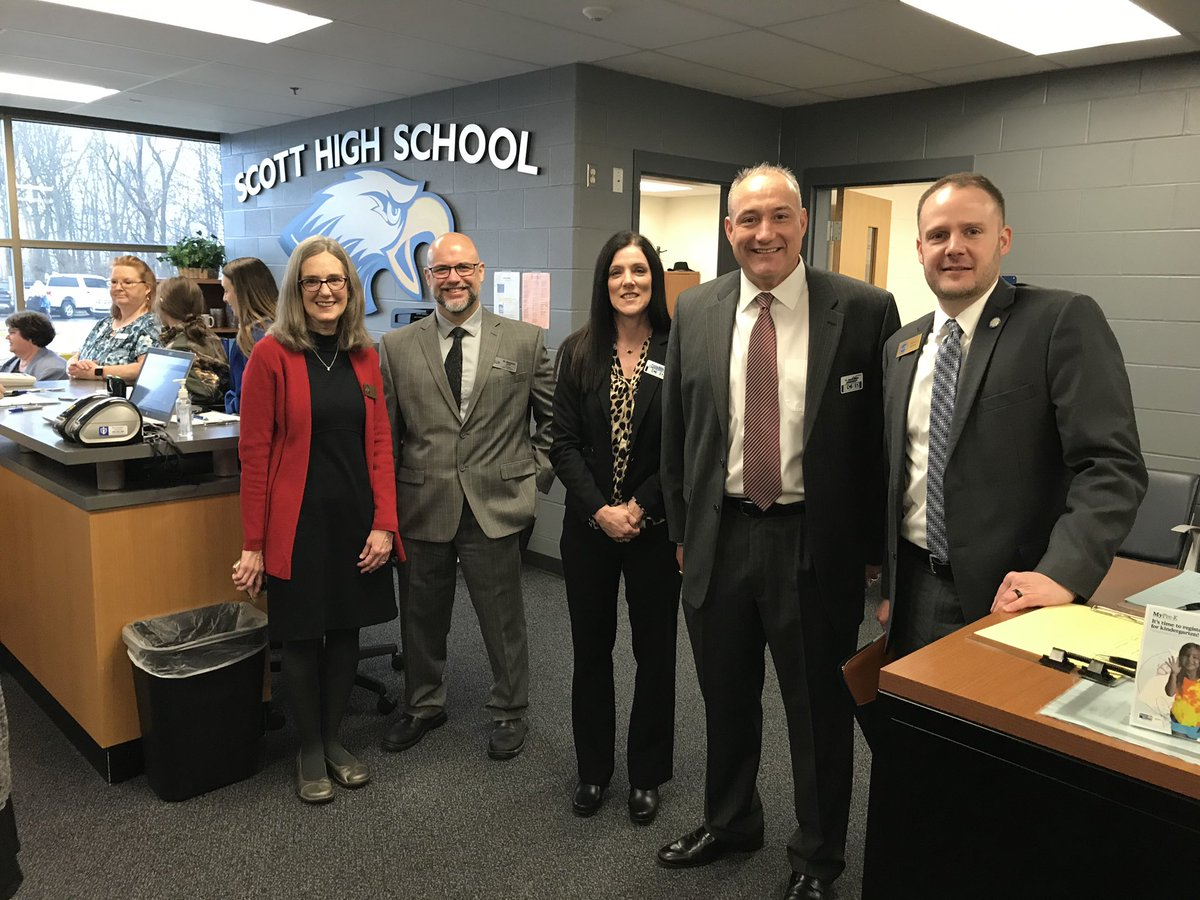 It was an incredible honor to be @ScottEagles today to celebrate our most valuable educational resource – our hardworking, dedicated teachers & to be part of @Milken's big surprise for math teacher Laura Cole. #MilkenAward #KyEd #LoveKYPublicSchools<br>http://pic.twitter.com/AdJJFJYsdj