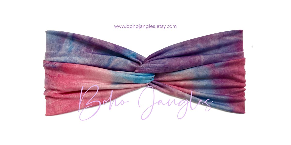 Everyone loving this Unicorn Tie-Dye headband right now - awesome for yoga sessions. Super soft and comfy to wear - get that on #trend look without the headband headache   #yoga #fashion #hair #ootd #style #boho #look #gym #workout #epiconetsy #unicorn
