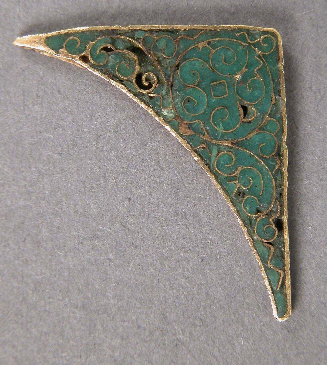 Element of an Icon Frame  #MedievalArt #themet