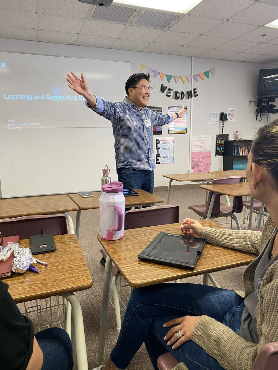 Learning and Supporting the Vision with Ted Lai!!! #WeAreCrane @CraneSchools<br>http://pic.twitter.com/IWlRurd0YW
