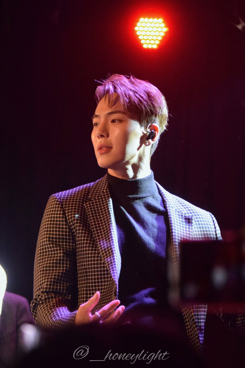 [200214 MonstaX at The Roxy]  #MONSTAX #MONSTAXINLA #MONBEBE #AllAboutLuv #MXonSunset #SHOWNU #손현우 #몬스타엑스