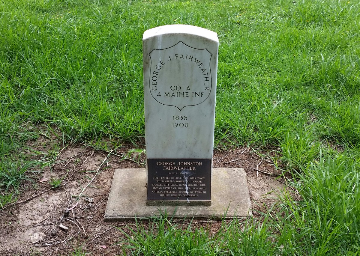 American Civil War Veteran, George Fairweather, grave in Australia - Bowral, New South Wales - February 27, 2020. pic.twitter.com/l1yNCScD8s