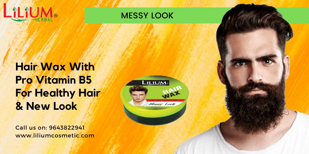 #LIlium Hair Wax With Pro Vitamin B5! #LiliumCosmetic #Salon #Spa #Cosmetologists #Hairstylists #BeautyRetailers #cosmetic #cosmetics #fashion #Hairdresser #beauty #skincare #makeup For more details visit -  To buy please visit :