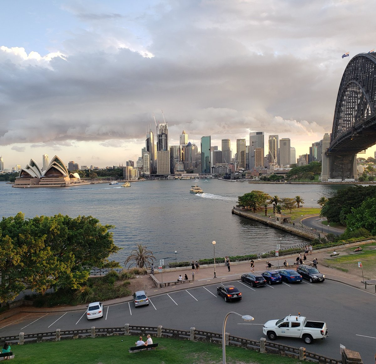 This is the view from my place #vacation #sydney #australia #travel #beautiful #sydneyoperahouse #sydneyharbour #sydneyharbourbridge #nofilter