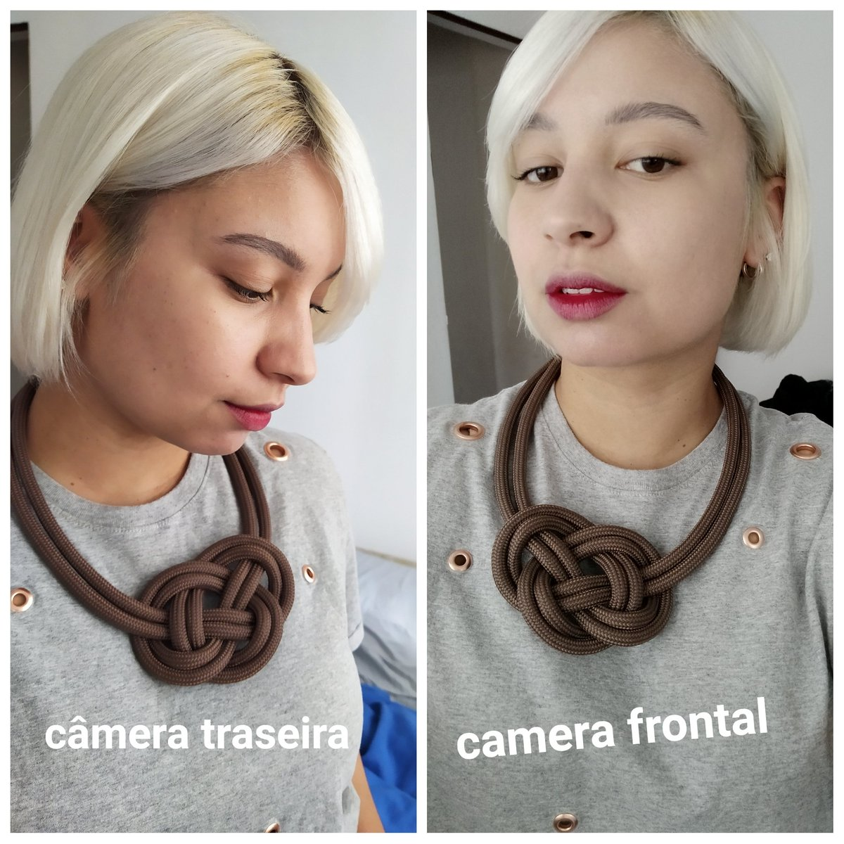 """se tem uma única coisa q me incomoda no meu #RedmiNote7  é esse """"filtro"""" na câmera frontal q me deixa pálida igual uma parede... é alguma coisa q possa ser corrigida na configuração @XiaomiBrasil? acho meio errado mudar a cor da minha pele assim #nofilter #Xiaomi"""
