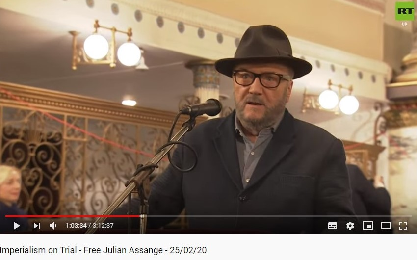 #DAY3: In court, the barristers argue about the UK-US #Extradition Treaty & whether (since the UK didn't ratify it) it provides protection against extradition on political charges.   @georgegalloway was in the UK parliament when the Treaty was signed: