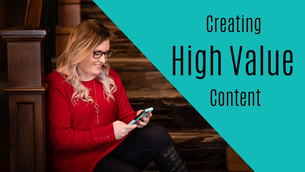 Posting High Value Content is one of the best ways to gain leads and customers.... But what does that even mean?! How do you create High Value Content?   Watch Now: https://youtu.be/t1h3cP6WALw pic.twitter.com/jhlg9fbhWS