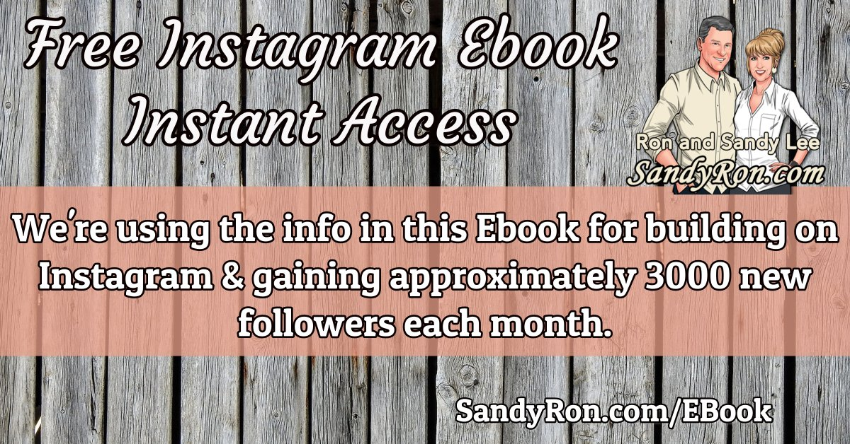 Here's Instant Access To Our % FREE PDF Guide For Info On The Way That We're Gaining Approximately 3000 Followers Per Month on Instagram.   Find Out How You Can, Too!  #SocialMediaMarketing #BeMyOwnBoss    http:// SandyRon.com/EBook4Insta     <br>http://pic.twitter.com/ErwwPhYzgk