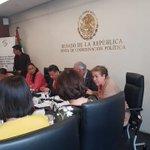 Image for the Tweet beginning: En Comisiones Unidas expuse que