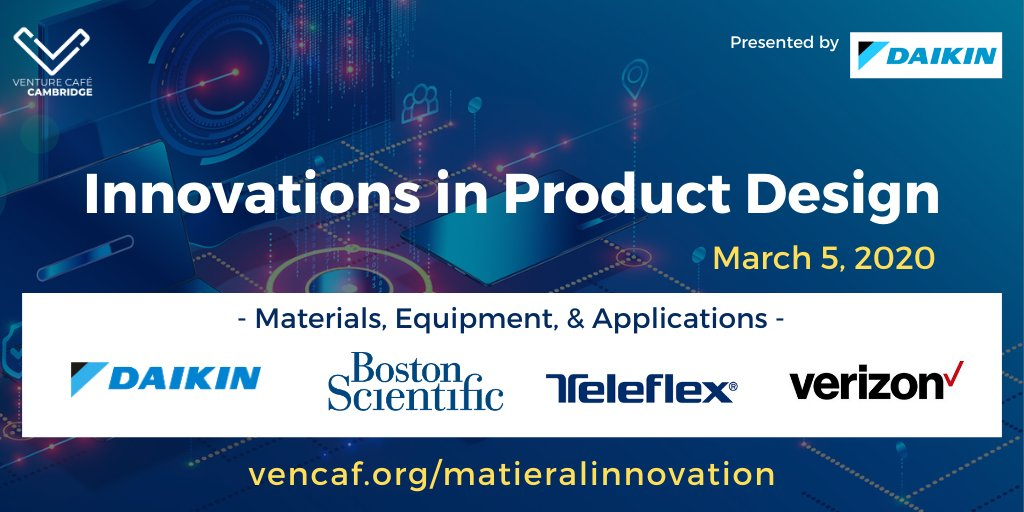 Join us to discuss #materialscience applications in #5G implementation & #medical applications. Learn about the market & applications of #fluorochemical technology through case studies, reverse pitches, & product demos. @daikin_america @verizon  @bostonsci @TeleflexIncpic.twitter.com/va0VpIJUuD