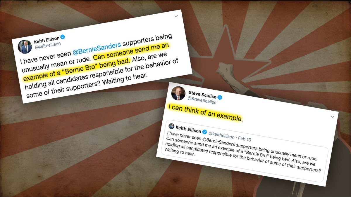To anyone who thinks the revolutionary roots of the Bernie campaign are all talk and no action, just ask Rep. @SteveScalise. #BerniesRadicals  https:// cnn.it/2PrjSwE     <br>http://pic.twitter.com/HXhWDoz2pK