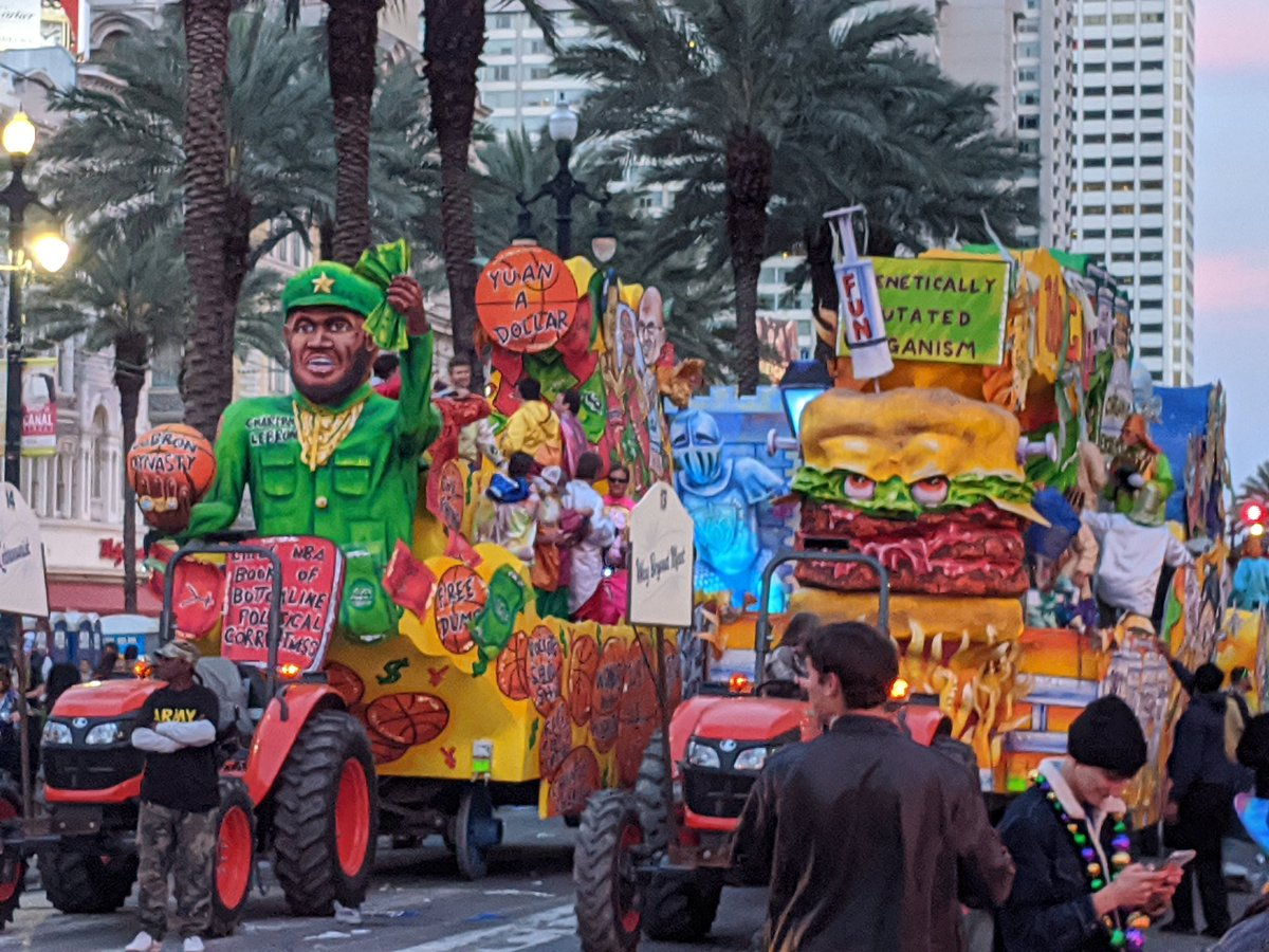 mardi gras is over but i'm still thinking about these ben garrison-esque floats