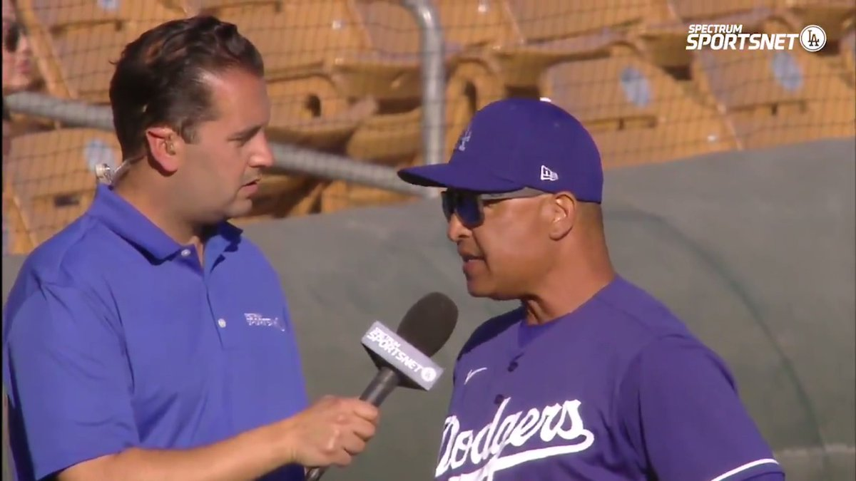 Dave Roberts shares his thoughts on Cody Thomas' performance and more in today's #Dodgers win with @THEREAL_DV.
