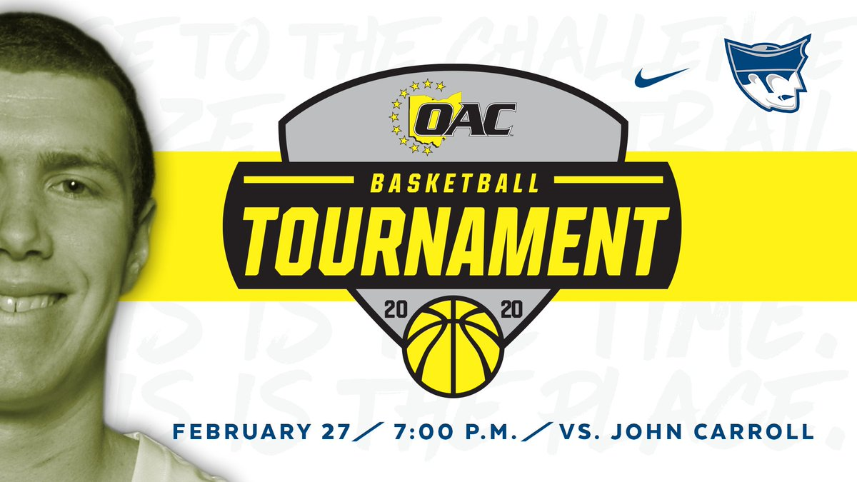 #PioNation we need you tomorrow night at 7:00 to pack the Banjo for our OAC semifinal matchup! https://t.co/i0Gr3KwiZs