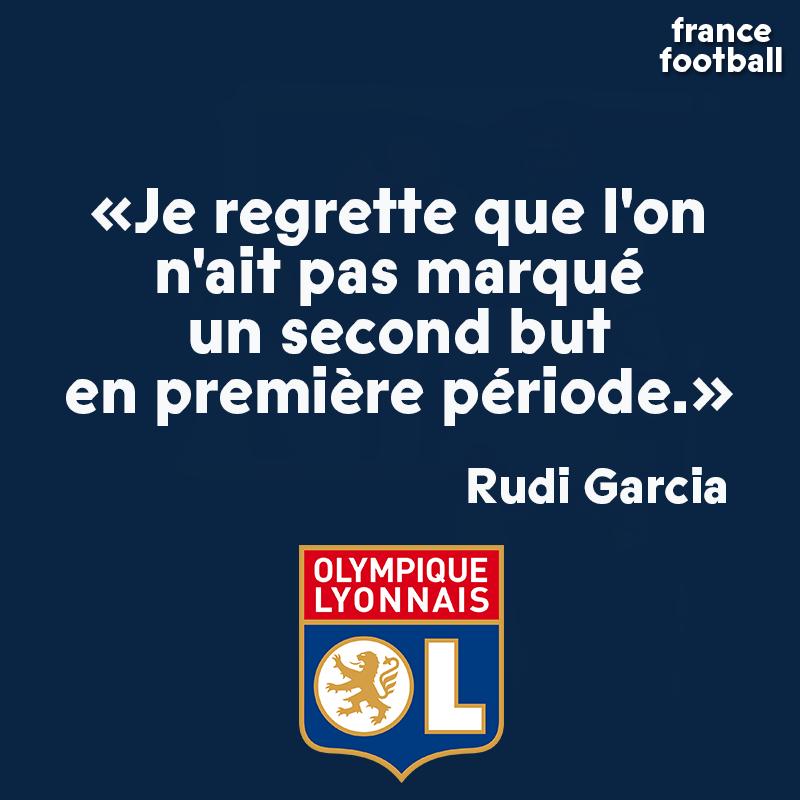 👉 Le regard de Rudi Garcia après la victoire de son OL sur la Juventus Turin : bit.ly/2vaZQjb
