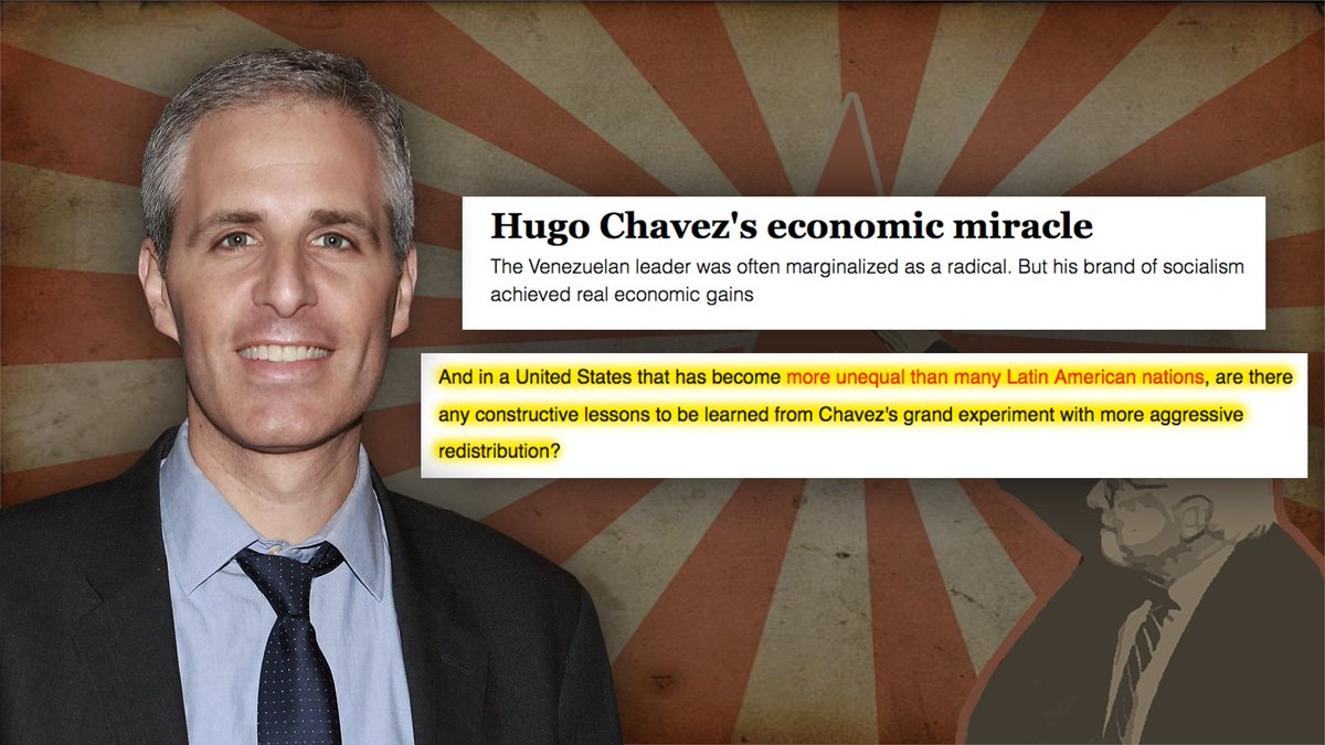 "Sirota - once again, Sanders' SPEECHWRITER - also wrote this article titled ""Hugo Chavez's Economic Miracle."" #BerniesRadicals  https:// bit.ly/393QWCv     <br>http://pic.twitter.com/JyZnZj9WL1"