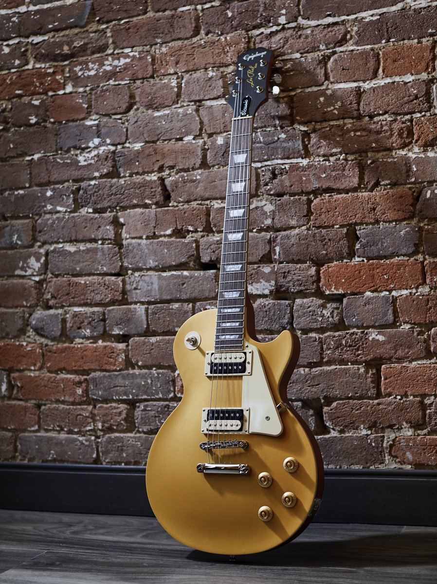 Go for Gold #epiphone #foreverystage #inspiredbygibson pic.twitter.com/pVvEzea9XU