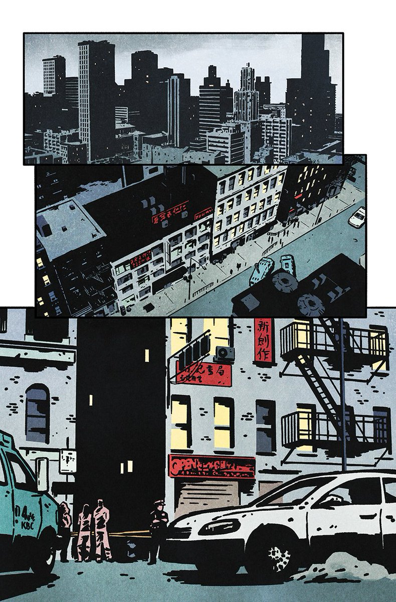 Lines by @JuanAlbarran75  Colors by @joshj81f1   Juan built these two awesome pages off of @BRIANMBENDIS #Powers script provided by @ComicExperience I love the #noir feel of this.   #color #colorist #imagecomics #iconcomics